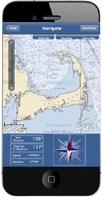 Welcome  Marine Navigation screen navigator Cape Code NOAA Maps